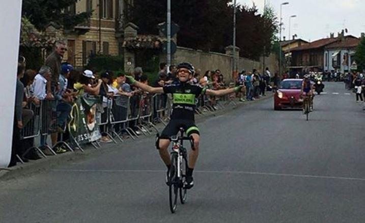 La vittoria di Michael Vanni nella gara Esordienti 2° anno di Nuvolera