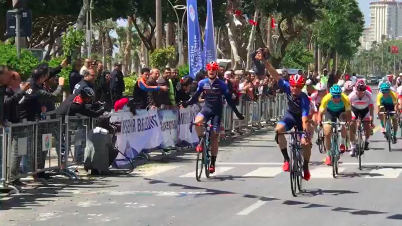 Mattia Viel vince l'ultima tappa del Tour de Mersin