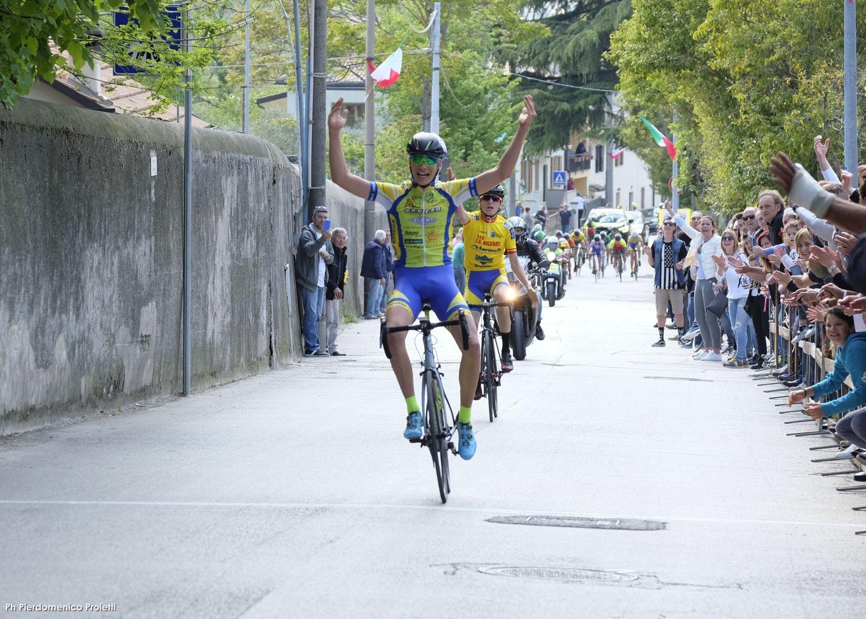 Alessio Pantalla vince la gara Allievi di Belfiore di Foligno