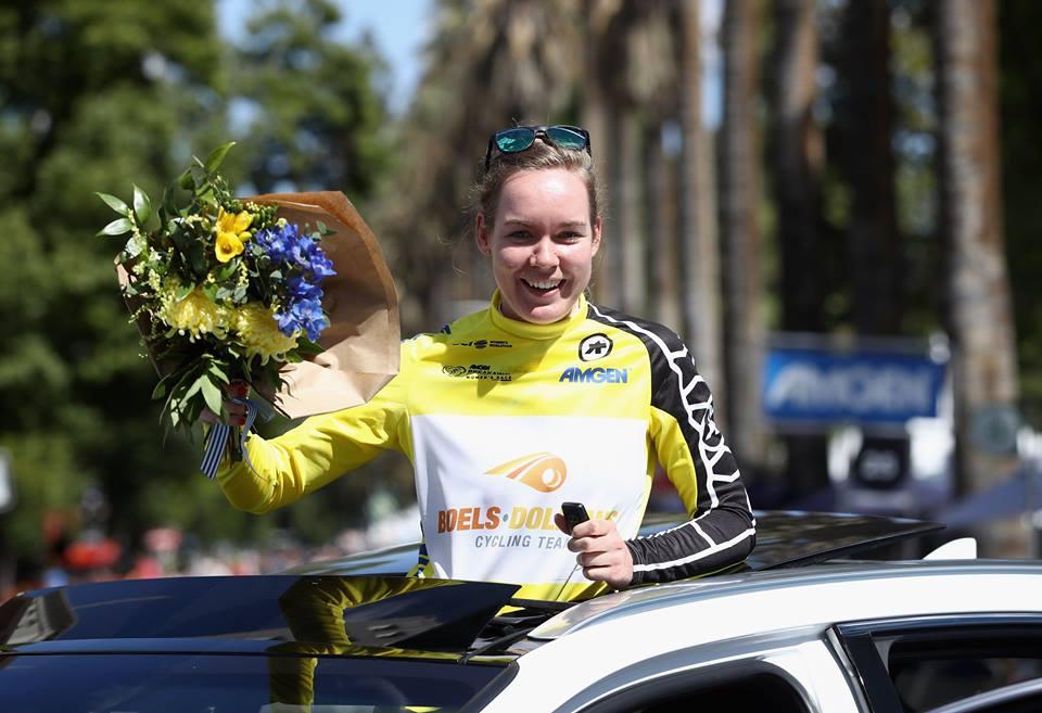 Anna van der Breggen vincitrice de Giro della California femminile