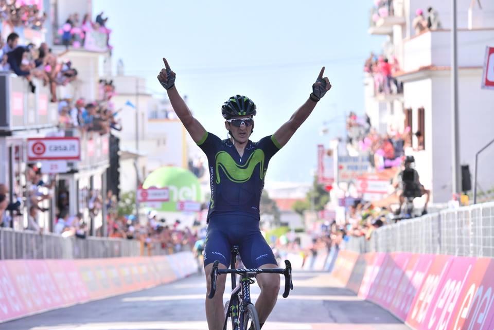 Gorka Izagirre vince a Peschici l'ottava tappa del Giro 100