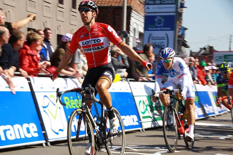 Jens Debusschere vince la prima tappa della 4 Jours de Dunkerque