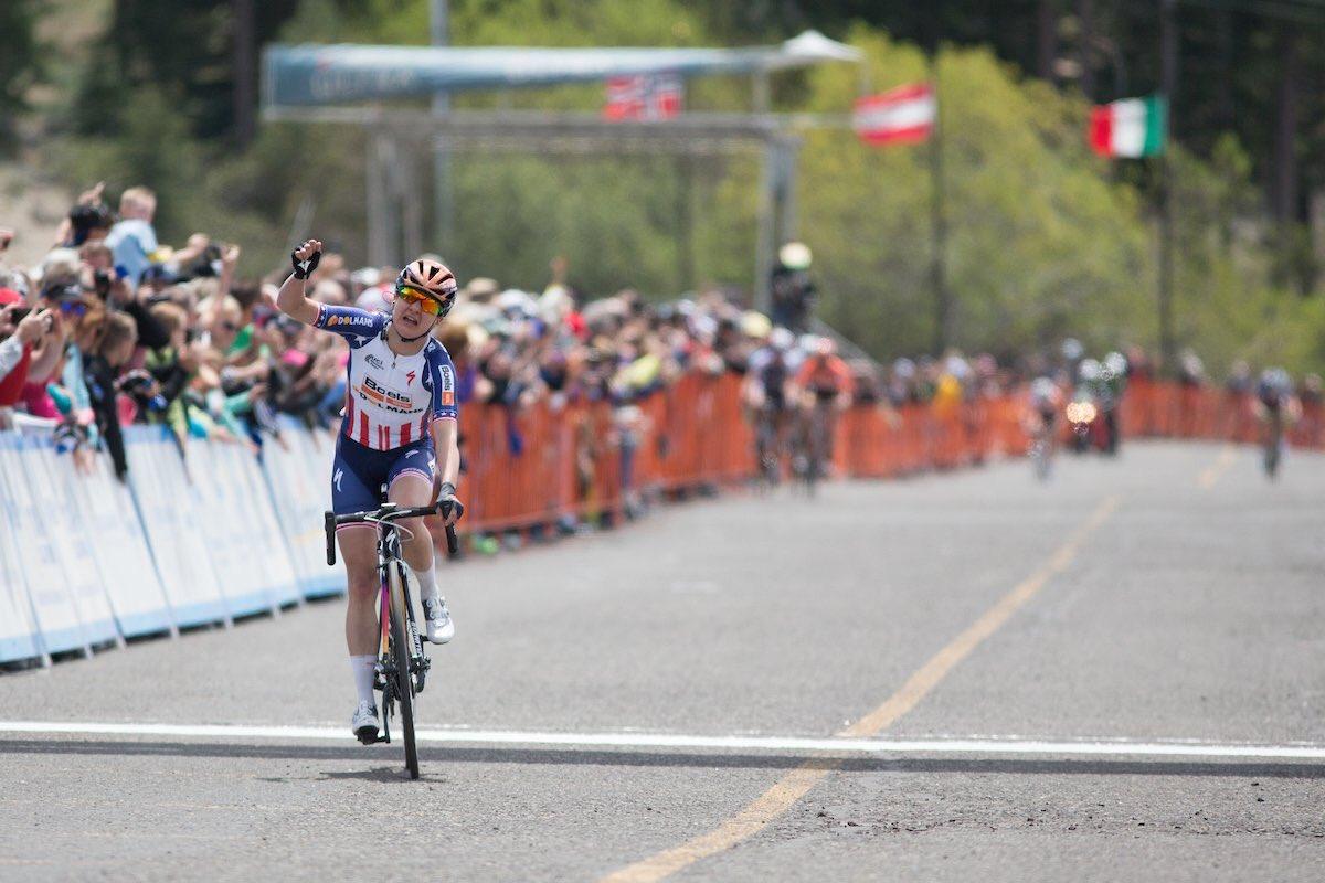 Megan Guarnier vince la prima tappa del Giro della California femminile