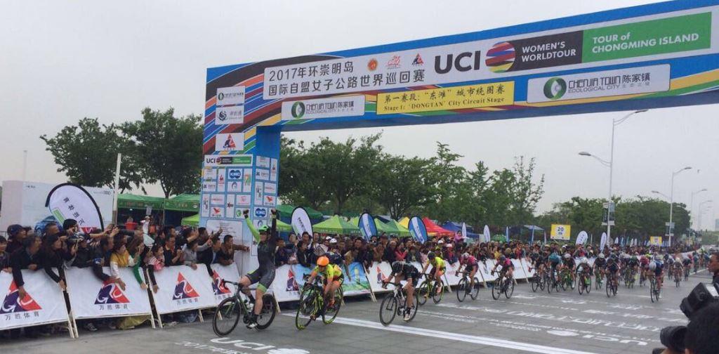 La vittoria di Kirsten Wild nella prima tappa Tour of Chongming Island 2017