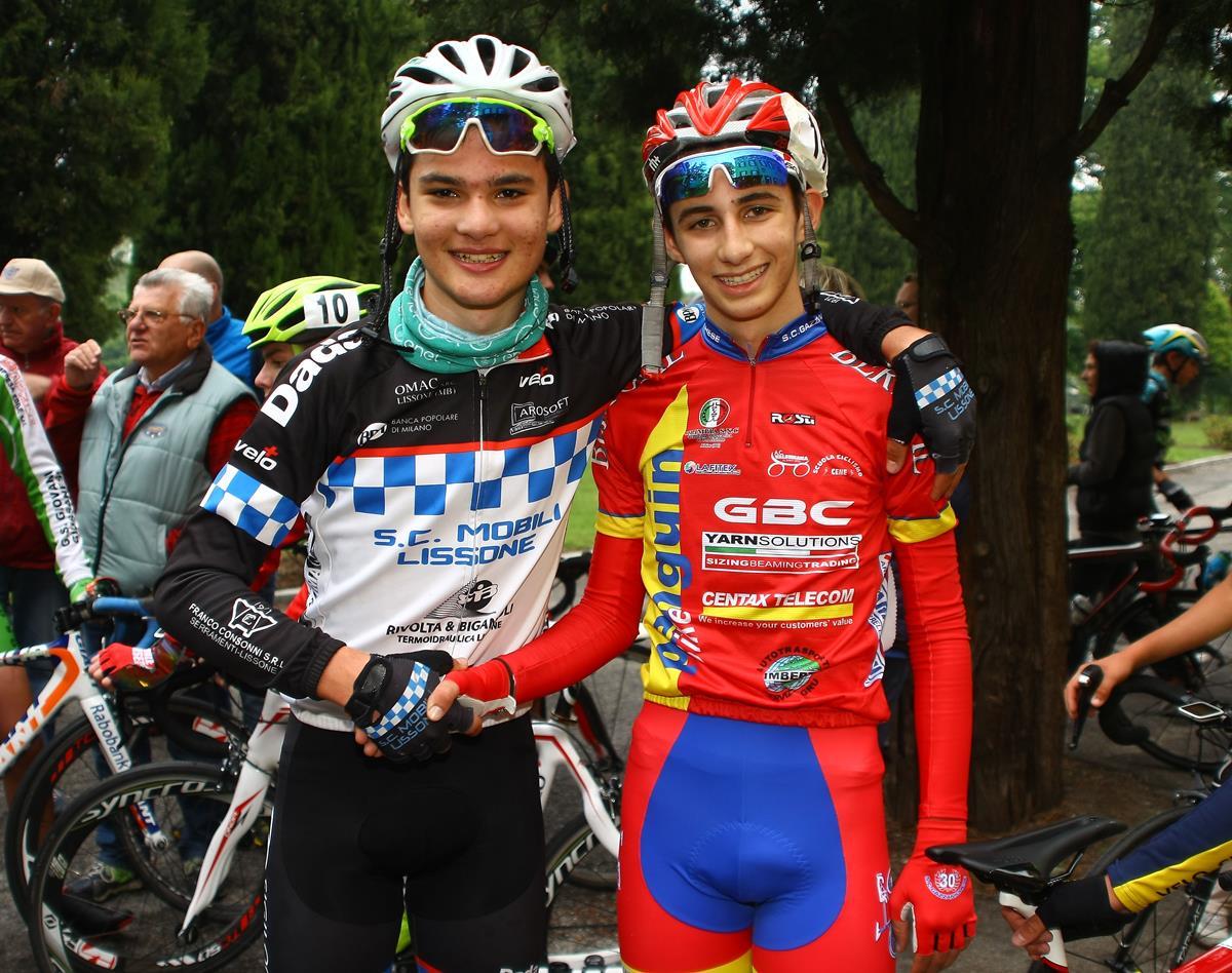 Grande sportività tra Luca Donini e Giovanni De Domenico