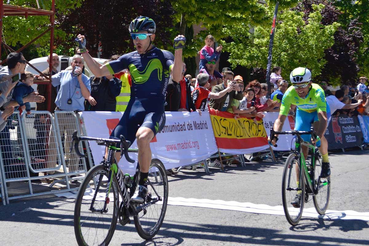 Carlos Barbero ha vinto la seconda tappa della Vuelta Ciclista Comunidad de Madrid 2017