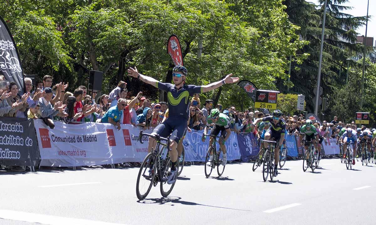 Jasha Sutterlin vince l'ultima tappa della Vuelta Ciclista Comunidad de Madrid 2017