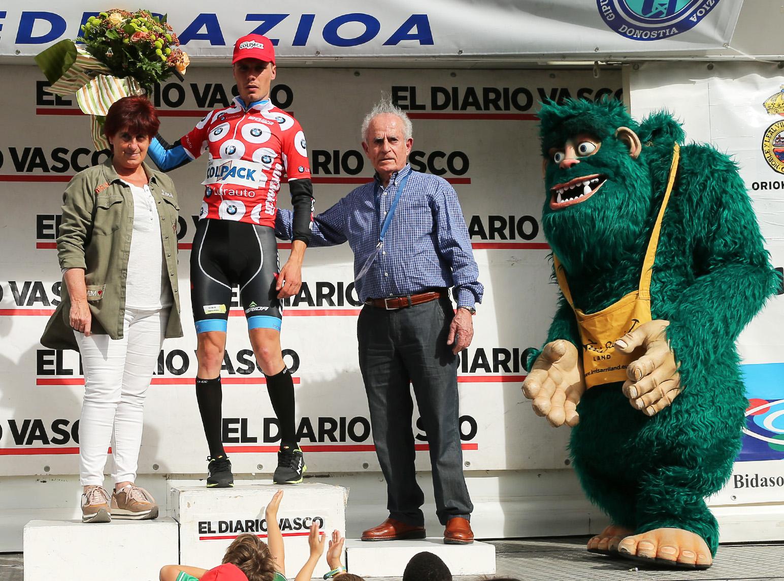Alessandro Fedeli leader della classifica degli scalatori