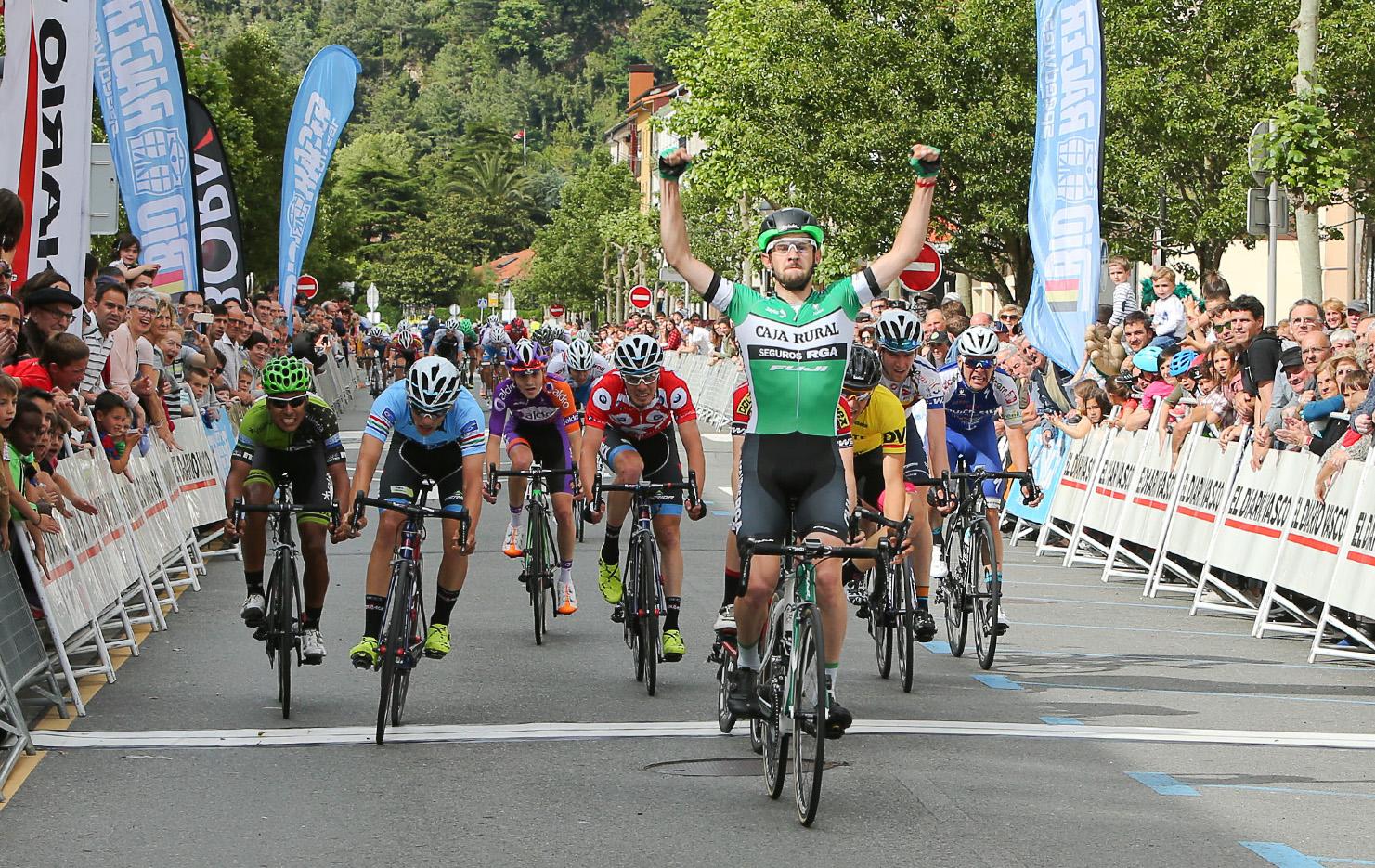Xavier Cañellas vince la terza tappa della Vuelta al Bidasoa