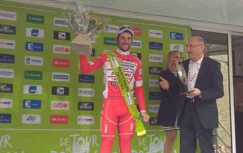 Andrea Vendrame vincitore dell'ultima tappa del Tour de Bretagne