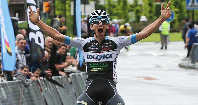 Matteo Sobrero vince la seconda tappa della Vuelta al Bidasoa