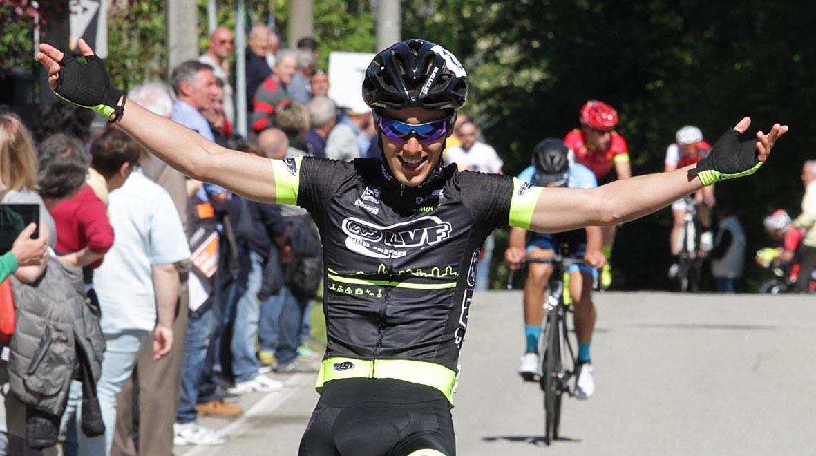 La vittoria di Samuele Rubino a Borgomanero