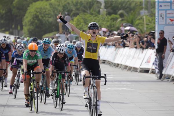 Jolien D'hoore ha vinto la terza e ultima tappa e la classifica finale del Tour of Chongming Island