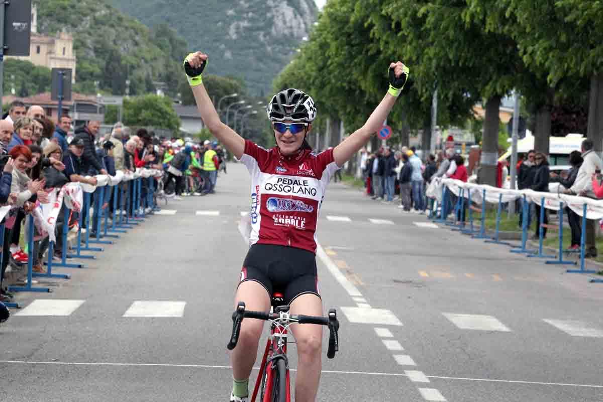 Francesca Barale vince la gara Donne Esordienti di Nuvolento