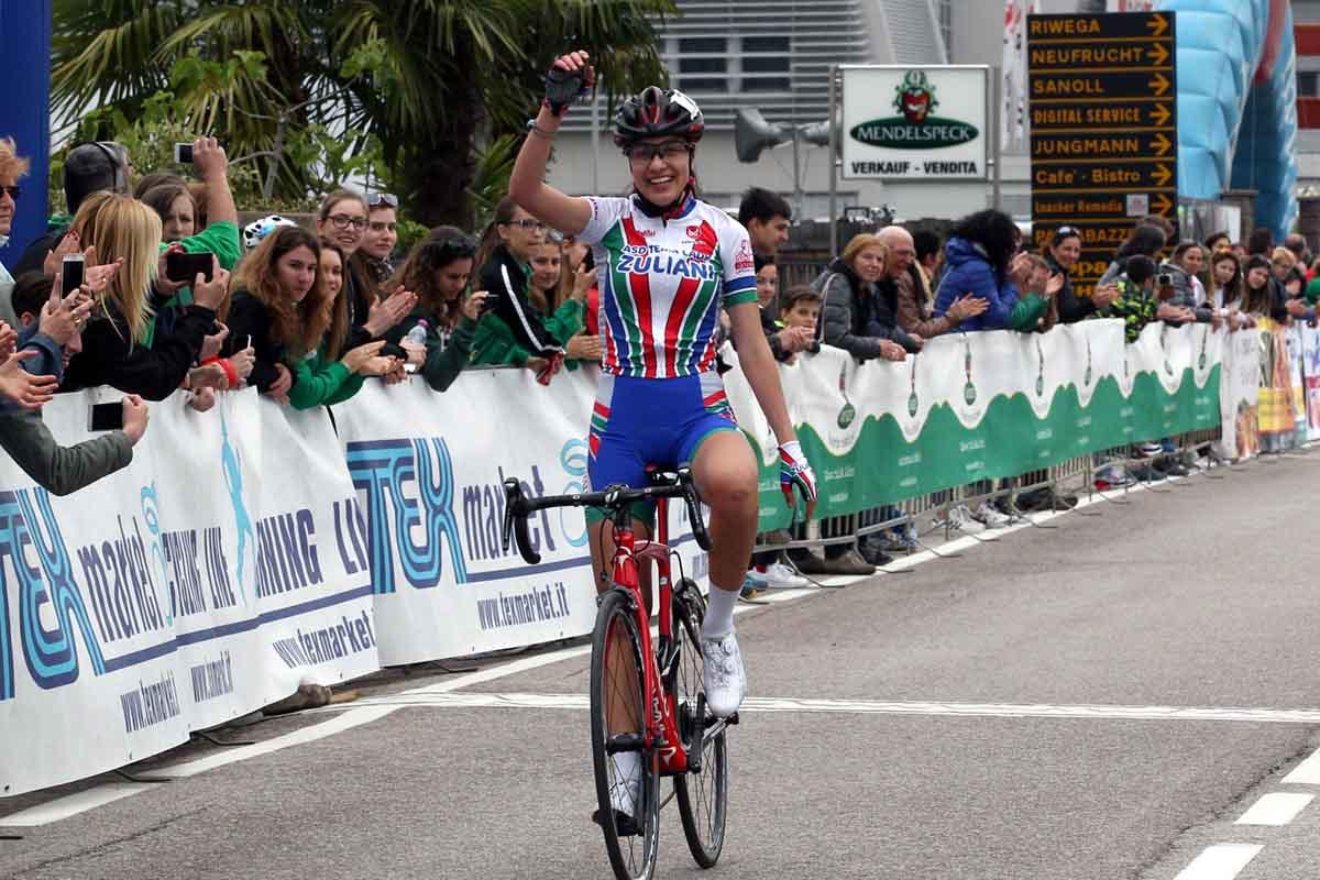 Camilla Alessio vince la gara Donne Allieve di Egna