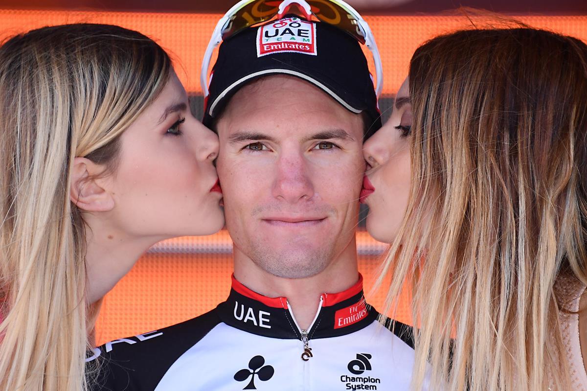 Jan Polanc vincitore della quarta tappa del Giro 100