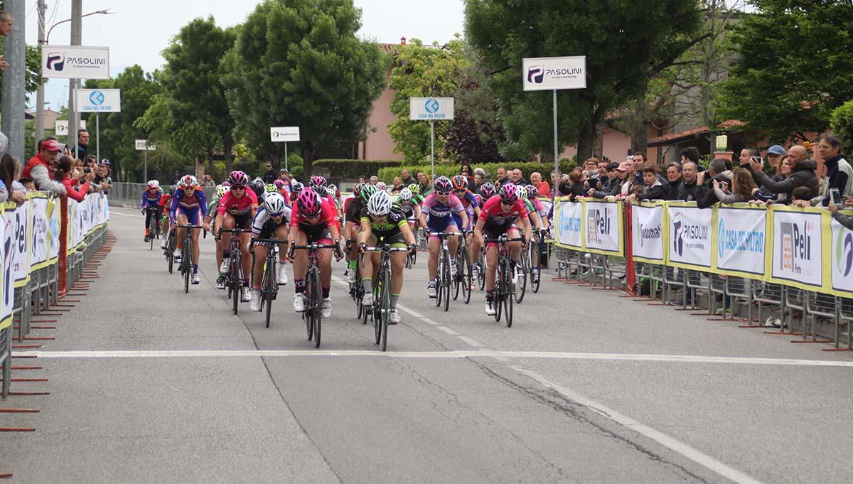 Sara Fiorin vince la gara Donne Esordienti di Castel Mella