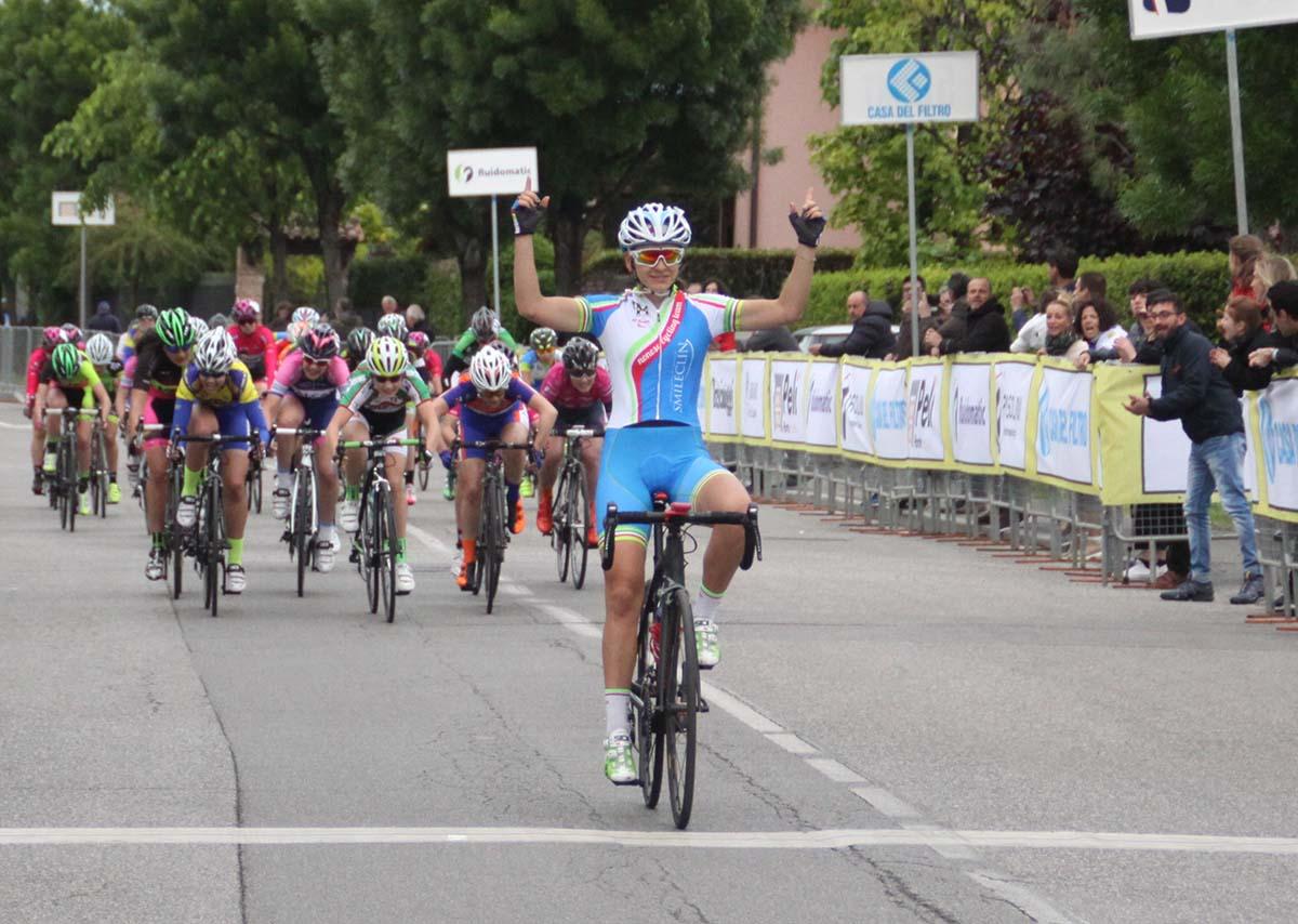 Eleonora Camilla Gasparrini vince la gara Donne Allieve di Castel Mella