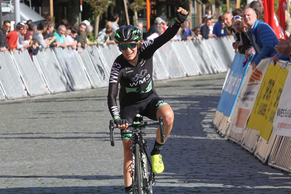 Valentina Scandolara vince la Dwars door de Westhoek