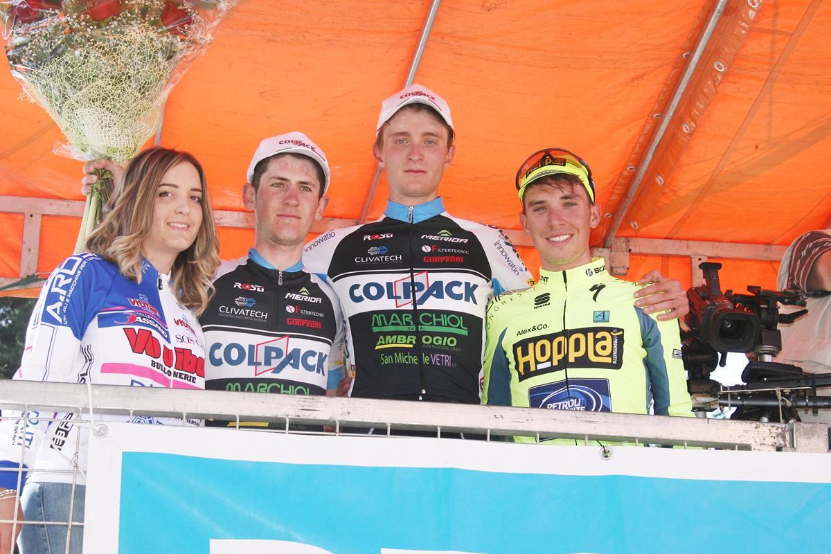 Il podio della Coppa Varignana 2017