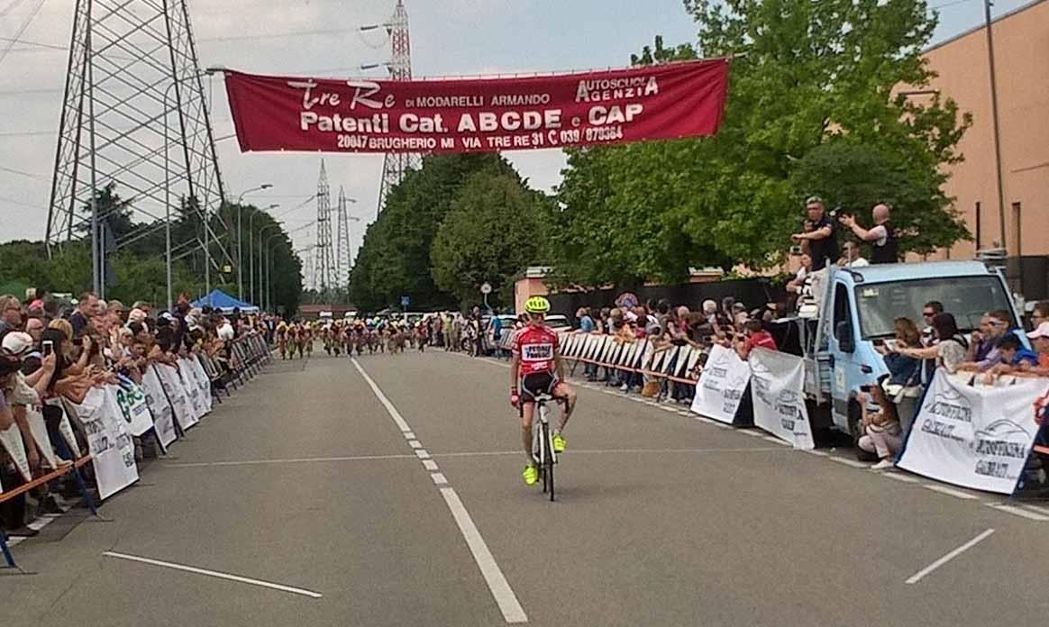 Federico Luigi Rustioni vince a Brugherio la gara Esordienti 2° anno