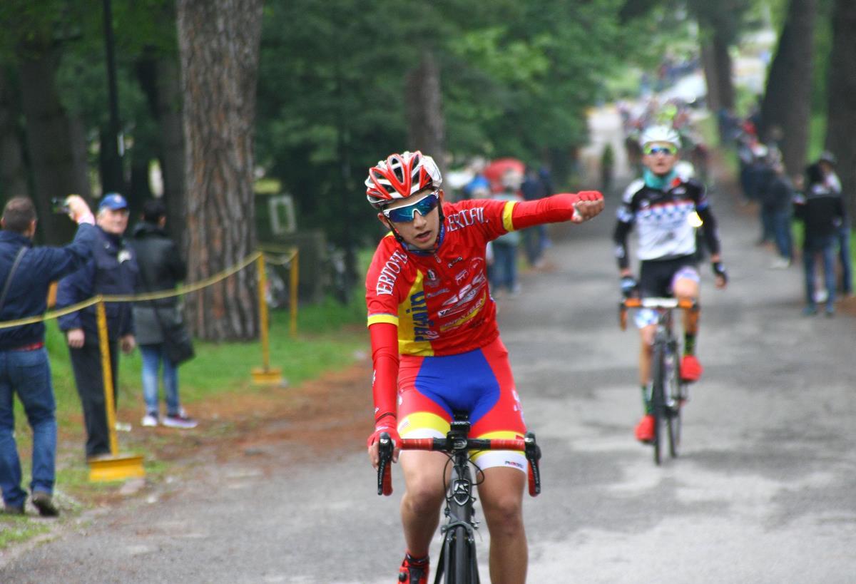 La vittoria di Luca Donini alla Sesto-Inverigo 2017