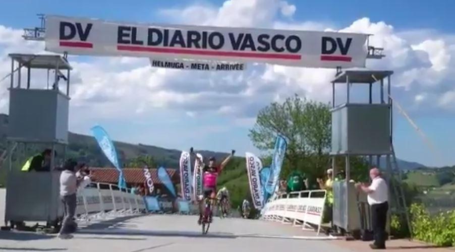 Sergio Lizarte vince la prima tappa della Vuelta a Bidasoa