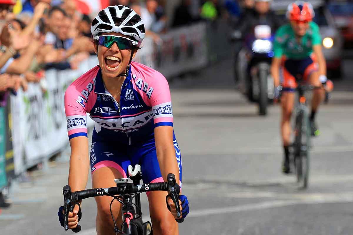 La vittoria di Dalia Muccioli nella seconda tappa del Giro della Campania in Rosa 2017