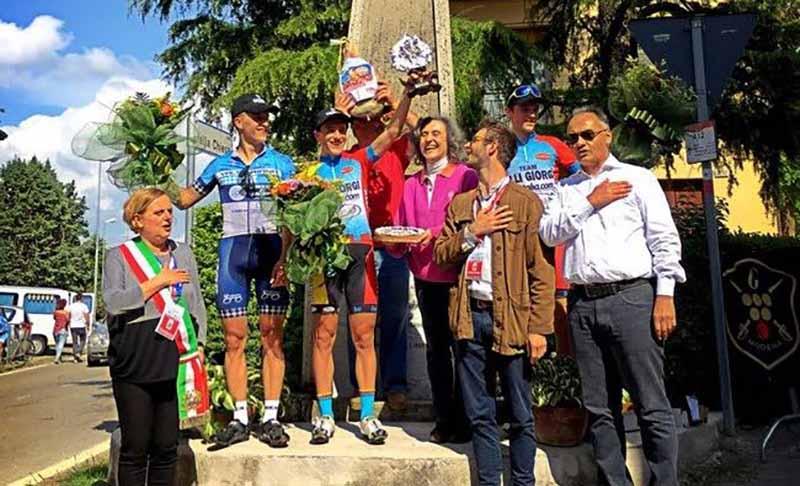 Il podio di Marano sul Panaro