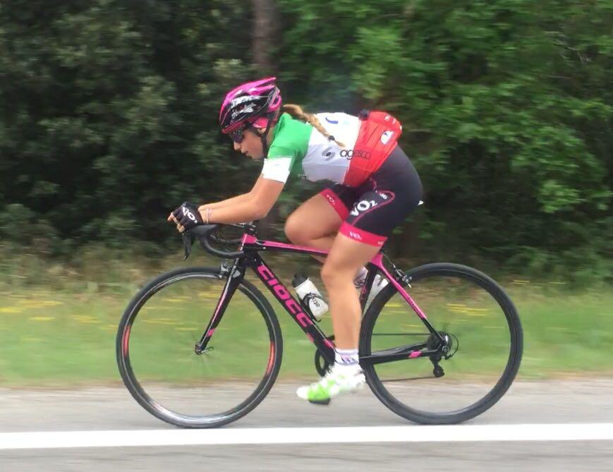 Sofia Collinelli in azione