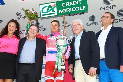 Clement Venturini vincitore della 4 Jours de Dunkerque 2017