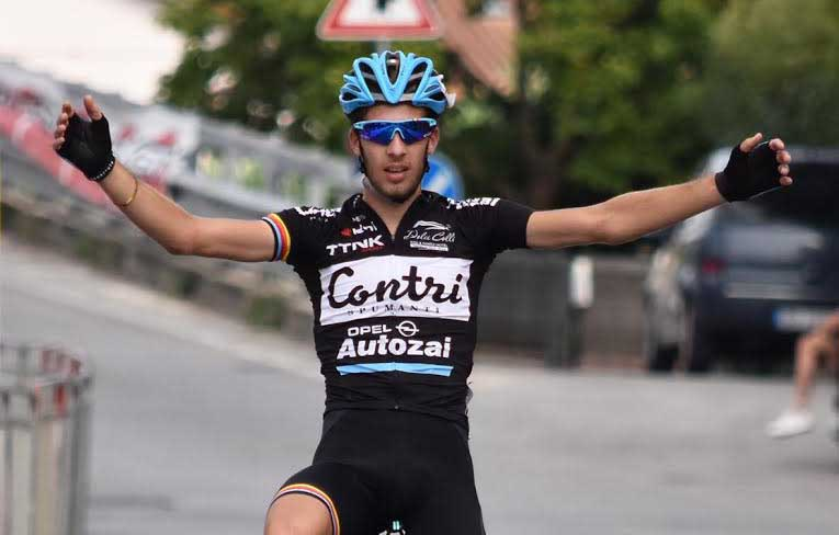 Alberto Zanoni vince a San Salvatore di Montecarlo