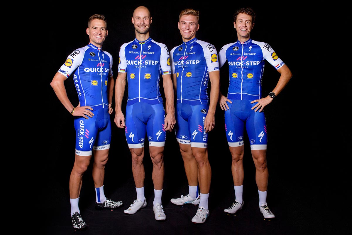 quick step floors cycling team svelata la maglia 2017