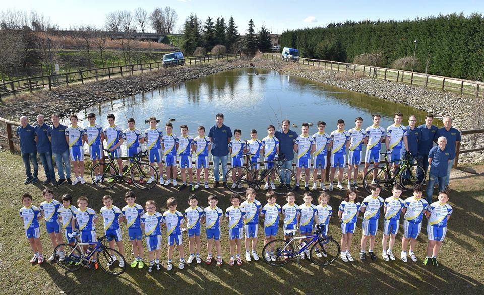 La squadra 2017 della Progetto Ciclismo Rodengo Saiano