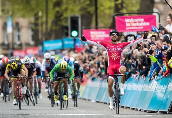 Nacer Bouhanni vince la seconda tappa del Tour de Yorkshire