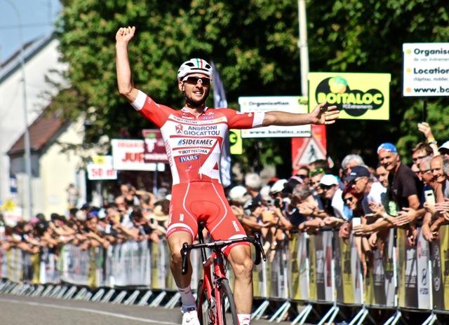 Mattia Frapporti vince la prima tappa del Tour du Jura