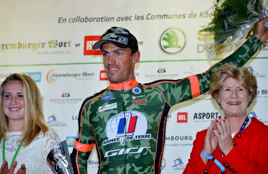 Damien Gaudin vince il prologo del Tour of Luxembourg 2017