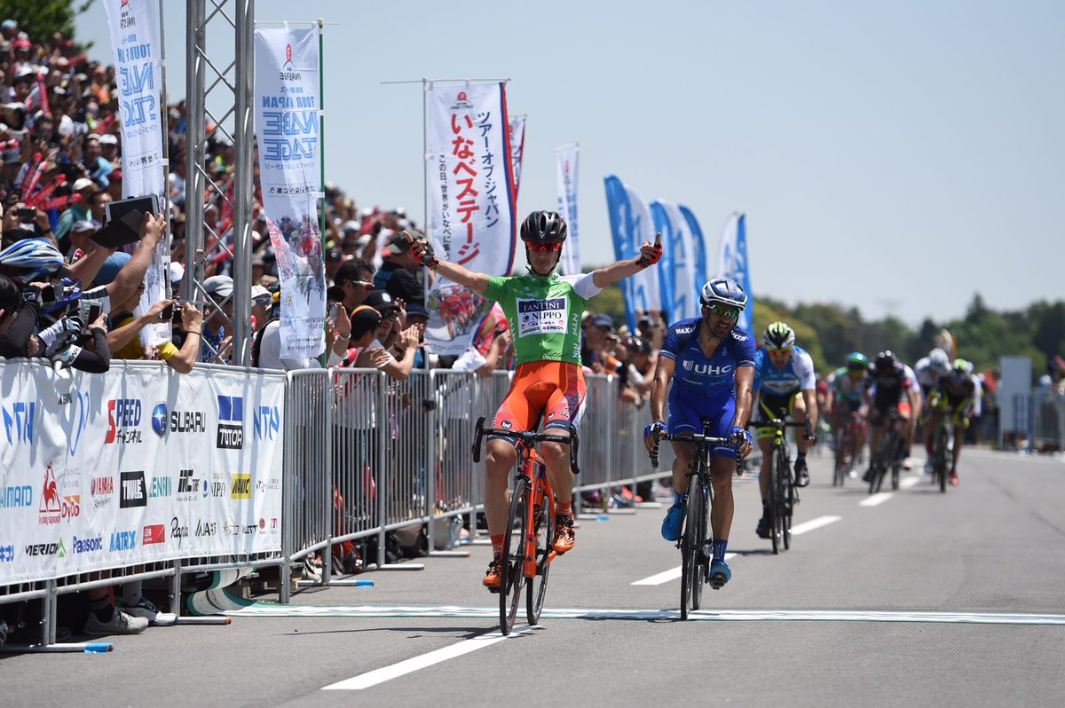 Marco Canola vince la terza tappa del Tour of Japan 2017