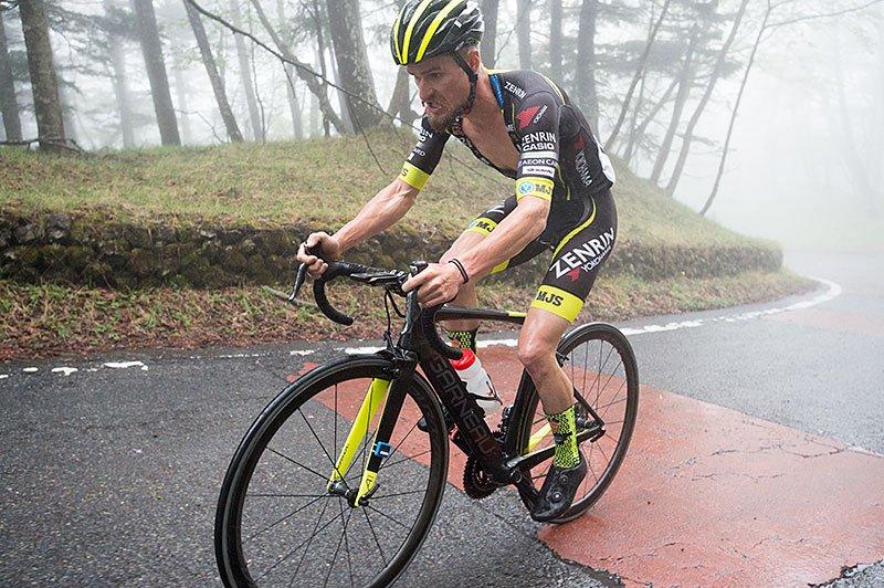 Oscar Pujol vince la cronoscalata al Monte Fuji del Tour of Japan 2017