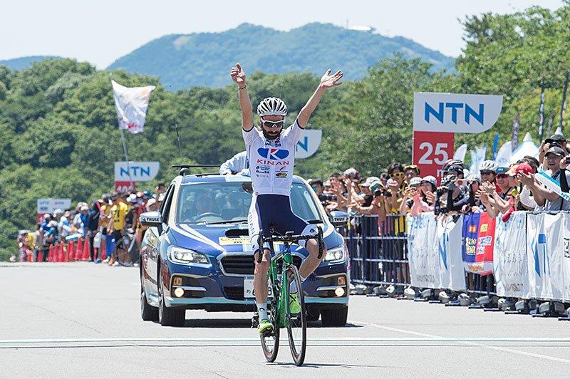 Marcos Garcia vince la settima tappa del Tour of Japan 2017