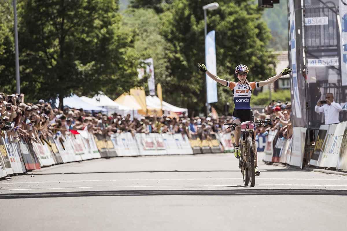 Yana Belomoina vince ad Albstadt