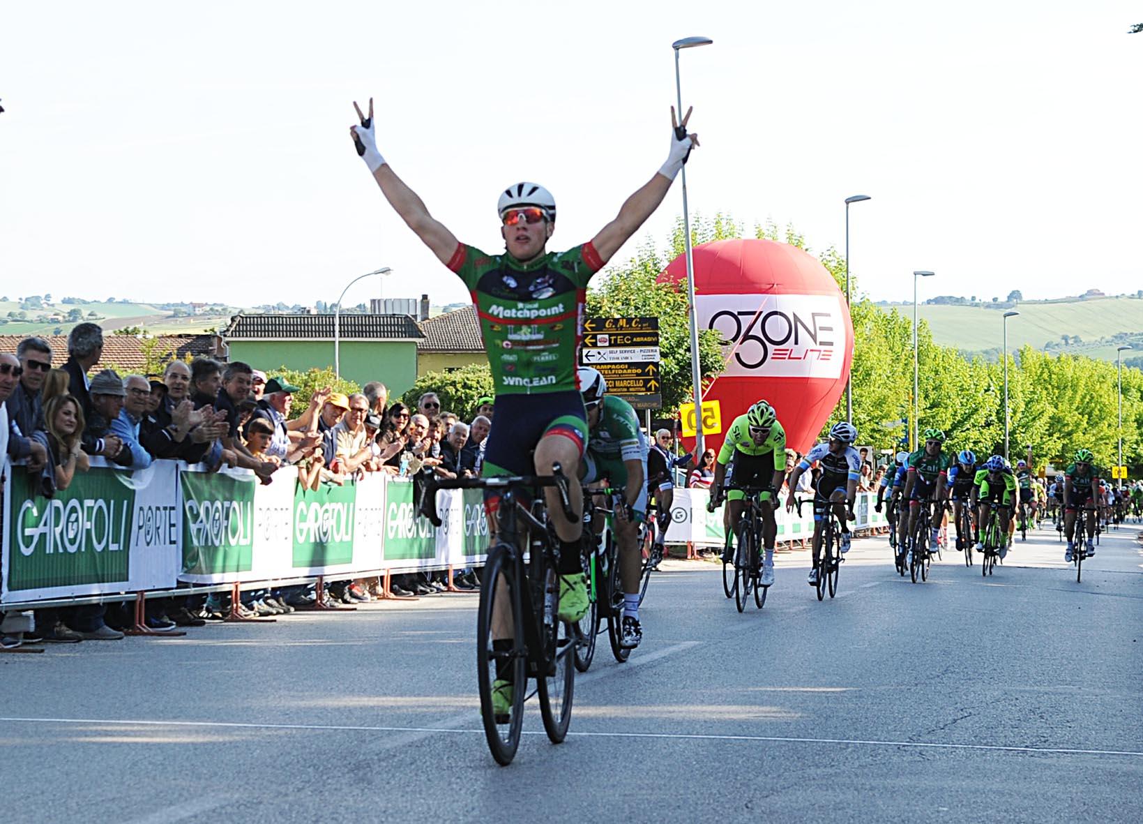 Imerio Cima vince il Trofeo Città di Castelfidardo