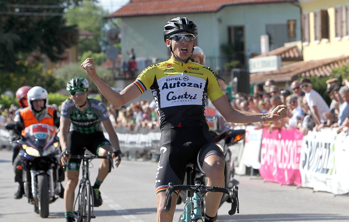 Filippo Zana vince il Campionato Veneto Juniores 2017