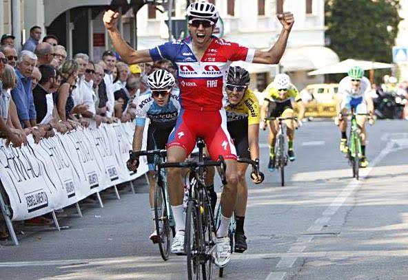 Aljaz Jarc vince il Trofeo Dorigo 2017