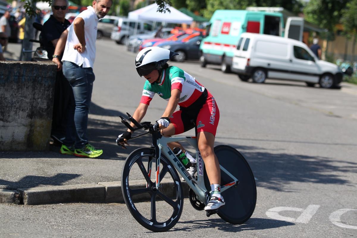 Alessia Vigilia vince la crono Donne Junior di Romanengo