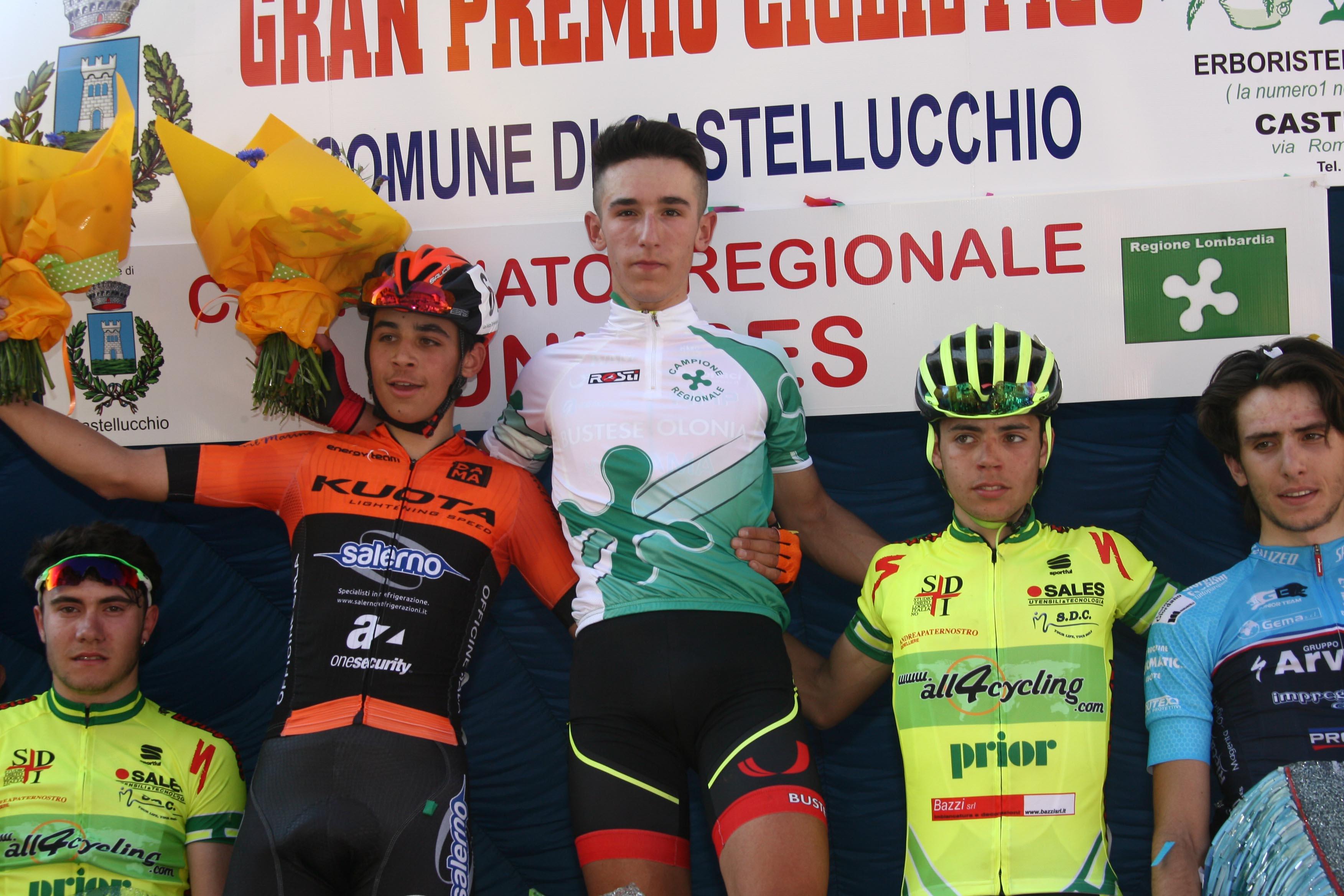 Massimo Murato campione lombardo Juniores a Castellucchio