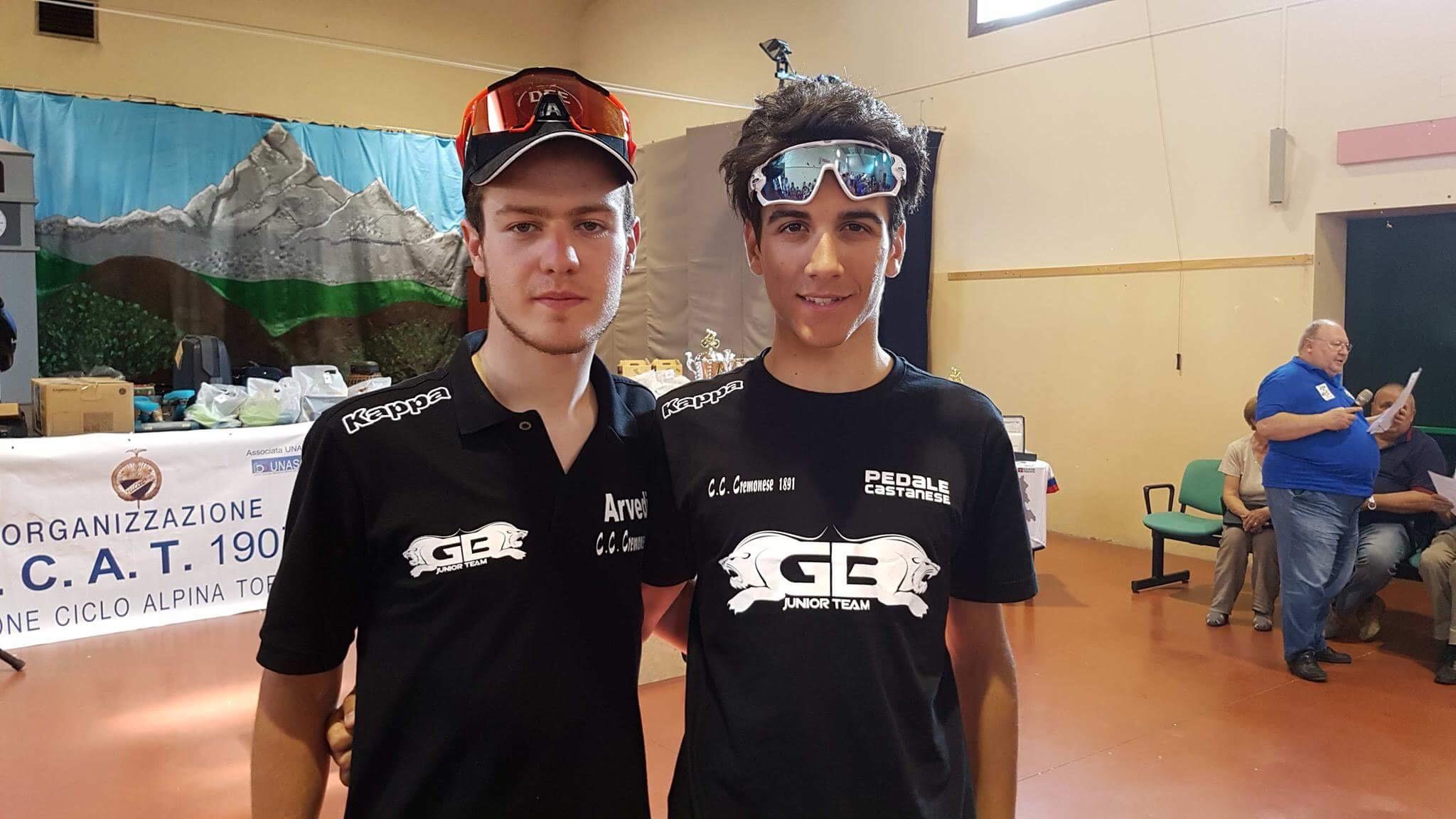Andrea Bartolozzi e Nicolò Parisini protagonisti nella gara di Paesana