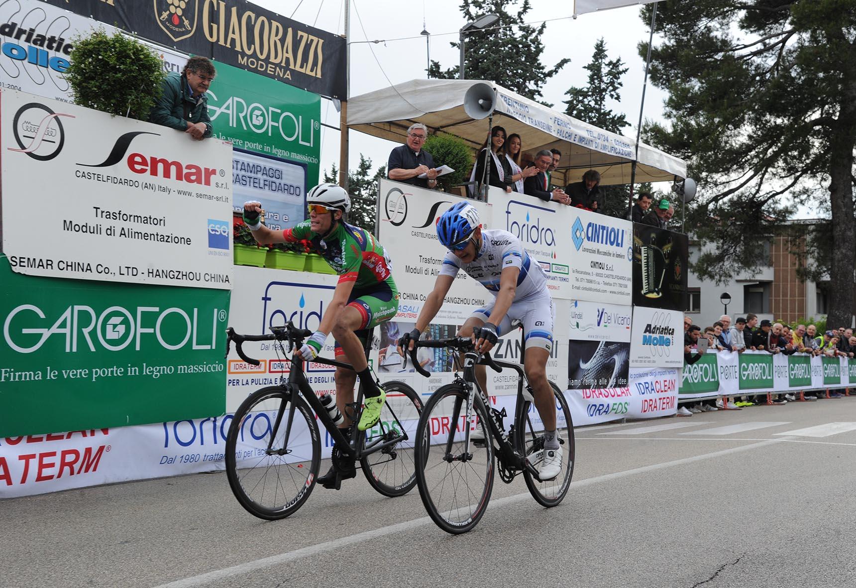 La vittoria di Matteo Natali su Riabushenko a Castelfidardo