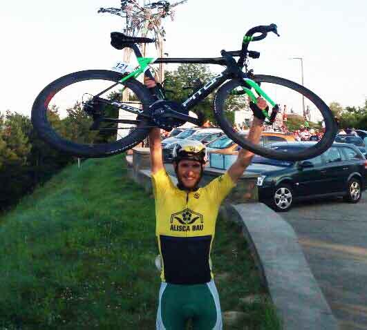 Filippo Tagliani vince anche la prima tappa del Gp Gemenc