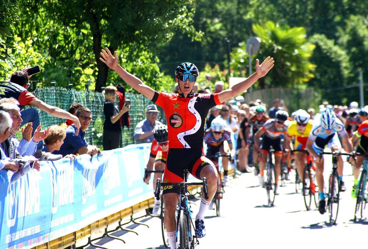 Federico Arioli vince la gara Allievi di Rogeno